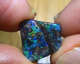 4.35 ct Boulder Opal With Gem Multi Color