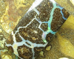 """66cts.""""BOULDER OPAL~FROM OUR MINES"""""""