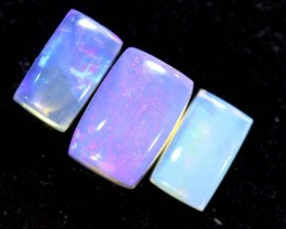 2.10CTS CRYSTAL OPAL POLISHED PARCEL 3PC TBO-6581