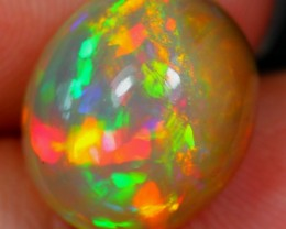 4.08Ct BRIGHT Rainbow Ethiopian Welo Polished Opal
