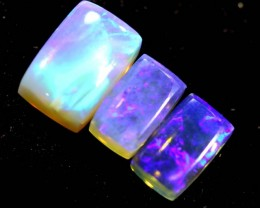 1.25CTS CRYSTAL OPAL PARCEL POLISHED 3PC TBO-6611