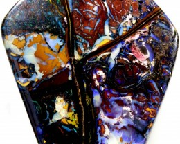 "167 CTS  ""THE CROSS"" BOULDER OPAL CF 831"