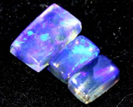 1.45CTS CRYSTAL OPAL PARCEL POLISHED 3PC TBO-6616