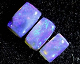 1.40CTS CRYSTAL OPAL PARCEL POLISHED 3PC TBO-6626