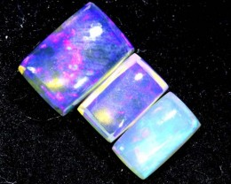 1.05CTS CRYSTAL OPAL PARCEL POLISHED 3PC TBO-6630