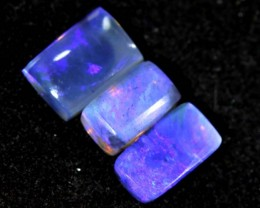 1.25CTS CRYSTAL OPAL PARCEL POLISHED 3PC TBO-6634