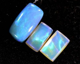1.10CTS CRYSTAL OPAL PARCEL POLISHED 3PC TBO-6637