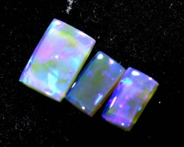 1.05CTS CRYSTAL OPAL PARCEL POLISHED 3PC TBO-6642