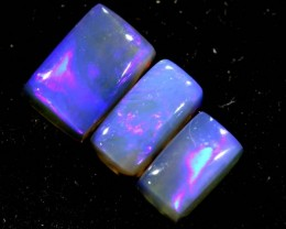 1.40CTS CRYSTAL OPAL PARCEL POLISHED 3PC TBO-6646
