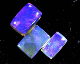 1.25CTS CRYSTAL OPAL PARCEL POLISHED 3PC TBO-6649