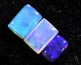 1.35CTS CRYSTAL OPAL PARCEL POLISHED 3PC TBO-6651