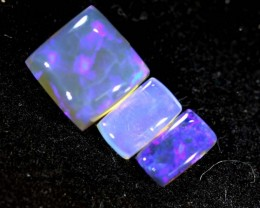 1.70CTS CRYSTAL OPAL PARCEL POLISHED 3PC TBO-6657