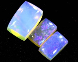 1.15CTS CRYSTAL OPAL  POLISHED PARCEL  3PC TBO-6672
