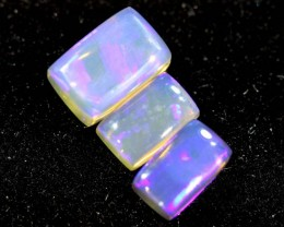 1.20CTS CRYSTAL OPAL PARCEL POLISHED 3PC TBO-6673