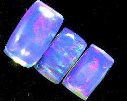 1.35CTS CRYSTAL OPAL PARCEL POLISHED 3PC TBO-6681