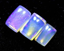 1.70CTS CRYSTAL OPAL PARCEL POLISHED 3PC TBO-6682