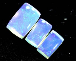 1.30CTS CRYSTAL OPAL PARCEL POLISHED 3PC TBO-6692