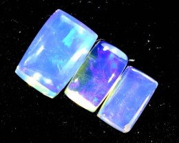 1.35CTS CRYSTAL OPAL PARCEL POLISHED 3PC TBO-6693