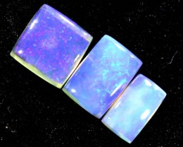 1.50CTS CRYSTAL OPAL PARCEL POLISHED 3PC TBO-6704