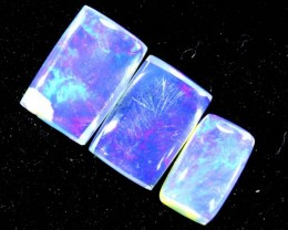 1.30CTS CRYSTAL OPAL PARCEL POLISHED 3PC TBO-6705