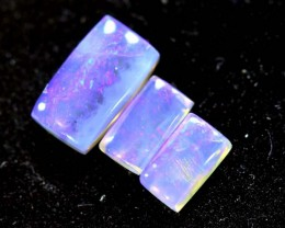 1.10CTS CRYSTAL OPAL PARCEL POLISHED 3PC TBO-6708