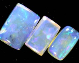 1.00CTS CRYSTAL OPAL PARCEL POLISHED 3PC TBO-6709