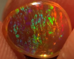 1.2ct Tiger Stripes, Mexican Crystal Opal