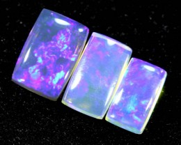 1.20CTS CRYSTAL OPAL POLISHED PARCEL 3PC TBO-6718