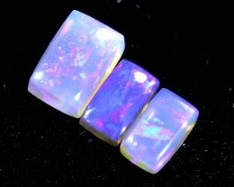 1.30CTS CRYSTAL OPAL  POLISHED PARCEL 3PC TBO-6719
