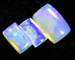1.15CTS CRYSTAL OPAL PARCEL POLISHED 3PC TBO-6733