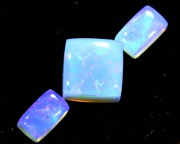 2.05CTS CRYSTAL OPAL PARCEL POLISHED 3PC TBO-6737