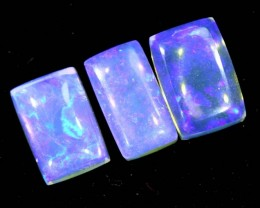 1.55CTS CRYSTAL OPAL PARCEL POLISHED 3PC TBO-6740