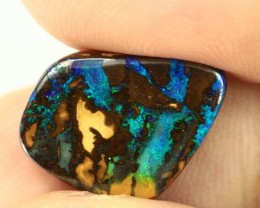 7.55 cts AUSTRALIAN BOULDER OPAL SOLID STONE NATURAL