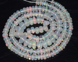 47.60 Ct Natural Ethiopian Welo Opal Beads Play Of Color