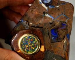 1090 CTS BOULDER ART  CLOCK CF924