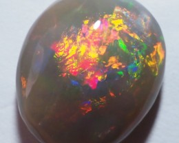 5.05 CT LIGHTNING OPALS BLACK OPAL  SS01175