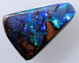 5ct 14x9.5mm Queensland Boulder Opal  [LOB-494]
