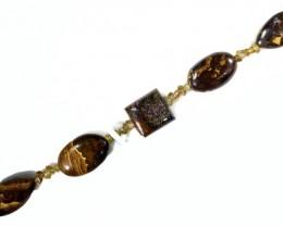Opal Bracelet with aussie Zircons CF931