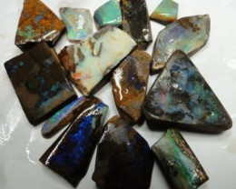 218.35 CT 14 PIECES QUALITY RUOGH BOULDER OPALS S01096
