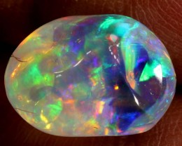 2.5CTS MEXICAN FIRE OPAL CARVED STONE FOB-1066