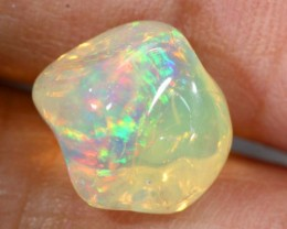 4.00CTS MEXICAN FIRE OPAL CARVED STONE FOB-1068