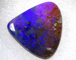 41.34CTS QUALITY BOULDER OPAL POLISHED STONE INV-732
