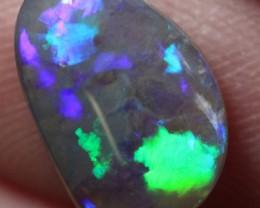 Lightning Ridge Solid Semi Black Opal Stone 2.25ct