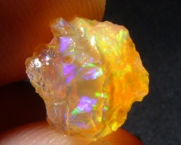 2.5Ctw Natural Opal Rough Specimen Mexican Fire Opal