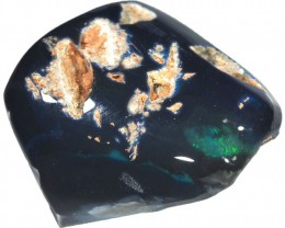 14.20 CTS   BLACK  OPAL SPECIMEN POLISHED [SO9193]