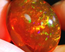 15.41Ct ContraLuz Fire Flash Ethiopian Welo Specimen Crystal Opal