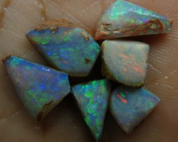 17.70CT SMALL BRIGHT WOOD FOSSIL BOULDER OPAL  SS01288