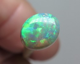 0.65Ct Lightning Ridge Crystal Opal stone