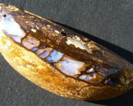 ROUGH RUB ~WOOD~  63.5 CTS FROM COLOURMINE OPALS.