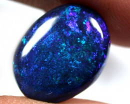 F/S CAB CLEAN BLUE GREEN  STONE BLACK OPAL  C3.95  QO1486